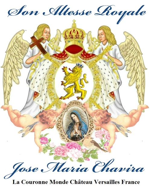 JCANGELCRAFT-JPG La Couronne Monde Chateau Versailles Son Altesse Royale Jose Maria Chavira MS Adagio 1st