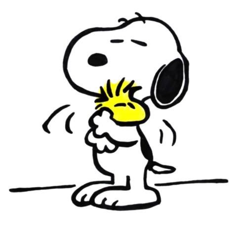 JC Angelcraft Snoopy and Woodstock by stridzio