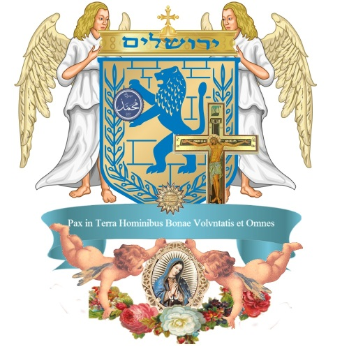 JV Agnvs Dei Verbvm Dei the-reincarnation-jesus-christ-the-son-of-the-holy-spirit the King of Jerusalem