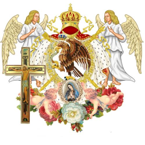Sitio Oficial - LCM La Courona Mexicana de La Teocracia y Monarquia de Espiritu Santo escuda de Su Altesa Royal Principe Jose Maria Chavira M.S. Adagio 1st