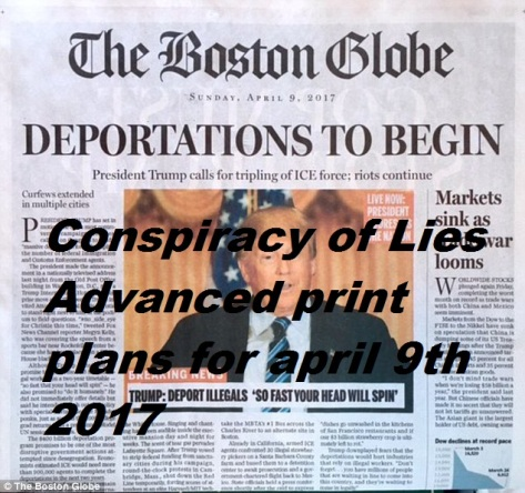 Evidence Interpol Conspiracy of Lies Advance Press - Courtesy of the Boston Globe