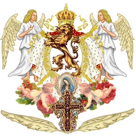 Le Plume de Nostro Sanctus Pater Blason Son Altesse Royal Jose Maria Chavira MS Adagio 1st Nome de Plume JC Angelcraft