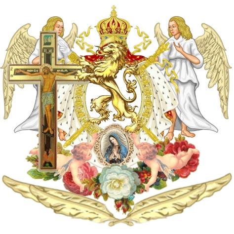 Pater Meus Santus Veritas Blason Jose Maria Chavira