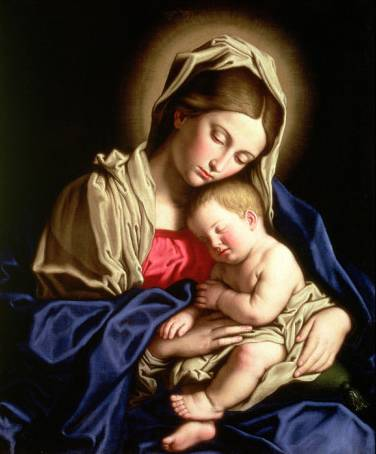 madonna-and-child-giovanni-sassoferrato