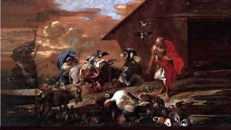 1600-x-900-adagio-1st-la-renaissance-de-jesus-christ-corporation-giovanni-benedetto-castiglione-in-front-of-noahs-ark-ca-1650-time-and-space-art-rendering-by-jc-angelcraft