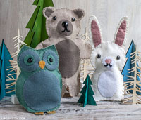 acwhc-angelcraft-crown-world-heritage-and-conservation-preservation-of-the-innocence-of-soul-category-puppet-craft-the-tuscon-puppet-lady-owl-bear-and-bunny-felt-hand-puppets-by-lia-griffith