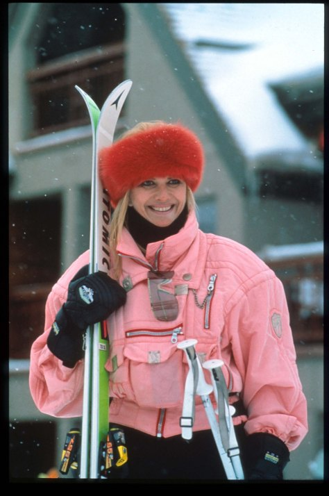 089768 03: Ivana Trump poses January 15, 1991 in Aspen, CO. Aspen, a ski resort town popular with film stars and other celebrities, also hosts a famous music school and an annual music festival. (Photo by Russell Turiak/Liaison)